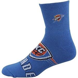 NBA Oklahoma City Thunder 2012 Big Logo Sock - Royal Blue