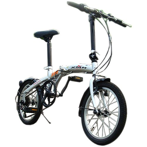 16インチ 軽量折りたたみ自転車 ...