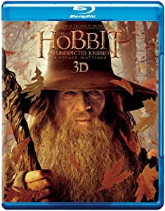 The Hobbit: An Unexpected Journey (Bilingual) [Blu-ray 3D + Blu-ray + Ultraviolet Copy]
