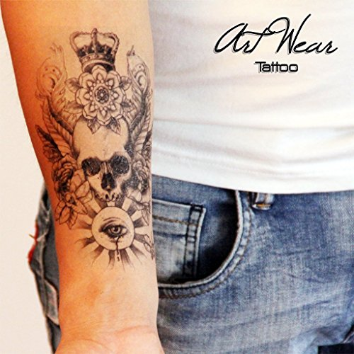 temporare-tatowierung-temporary-tattoo-water-transfert-skull-eye-crown-artwear-tattoo-b0039-m