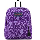 Jansport High Stakes Backpack in Purple Night Jungle Adventure, TRS703T