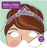 Lot de 6 Masques Princesse à colorier - Idéal pour les déguisements de Princesse...