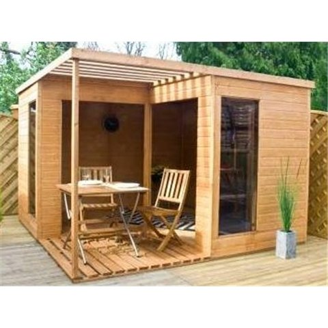 10ft x 10ft Villa Summerhouse