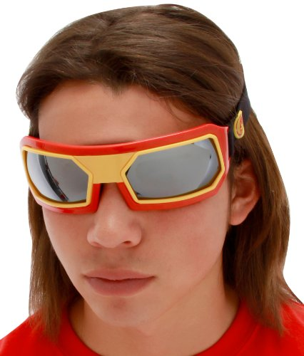 elope Marvel Men's Iron Man Goggles, Red/Yellow, One Size - 1