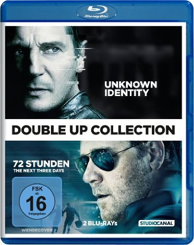Double-Up Collection: Unknown Identity / 72 Stunden - The Next Three Days [Blu-ray]