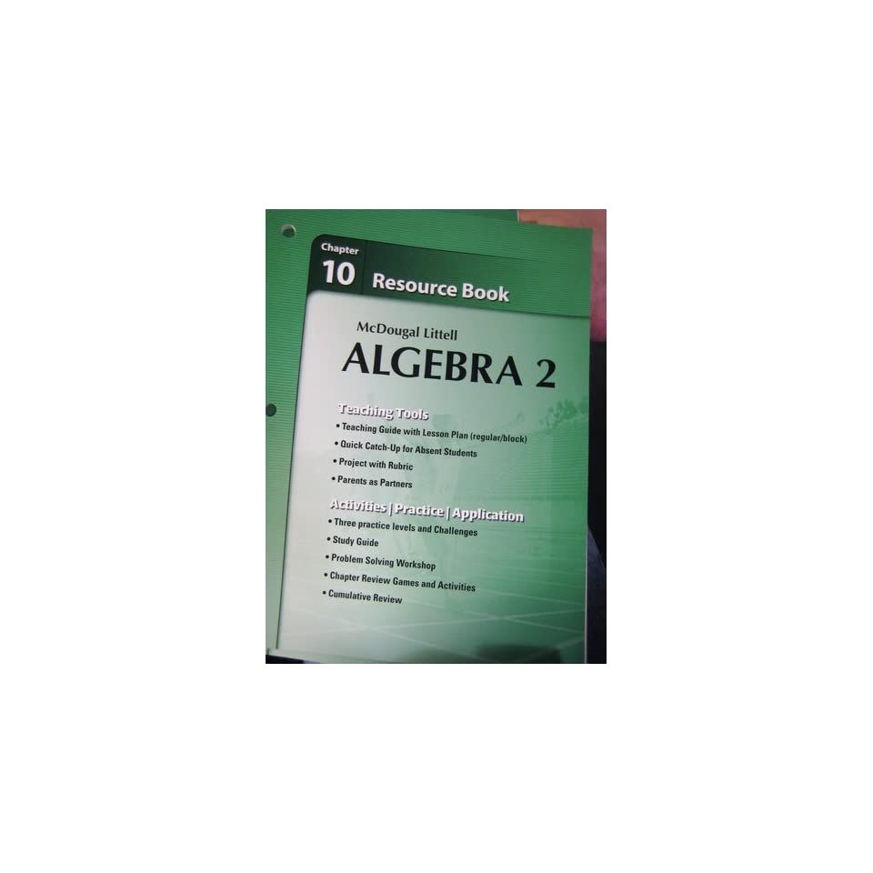 Holt algebra 2 workbook answers pdf