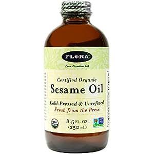 Flora - Certified Organic Sesame Oil - 8.5 oz