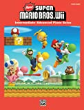 img - for New Super Mario Bros. Wii: Intermediate / Advanced Piano Solos book / textbook / text book