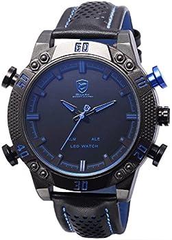Shark SH265 Digital Analog Mens Quartz Watch