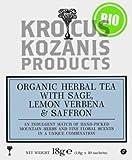 Krokos Kozanis Organic Herbal Tea with Sage, Lemon Verbena, Saffron thumbnail