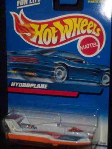 #2000-202 Hydroplane Collectible Collector Car Mattel Hot Wheels - 1