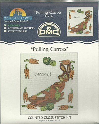 Watership Down: Pulling Carrots Cross Stitch