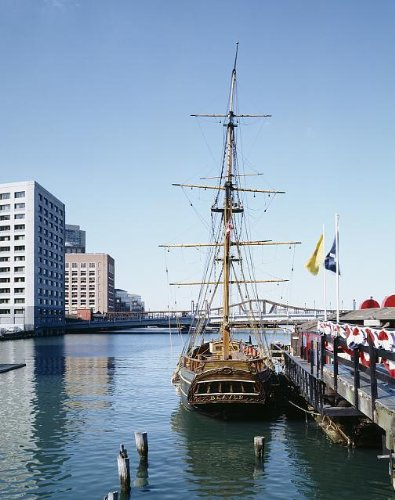 Photo: Tea Party ship,Boston,Massachusetts,MA,Bridge,America,Carol Highsmith,1980-2006 (Boston Ma Pictures compare prices)
