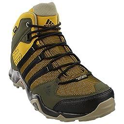 Adidas Outdoor AX 2 Mid GTX Hiking Boot - Men\'s Raw Ochre/Black/Night Cargo, 11.0
