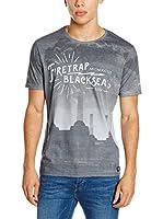 Firetrap Camiseta Manga Corta Selah (Gris)