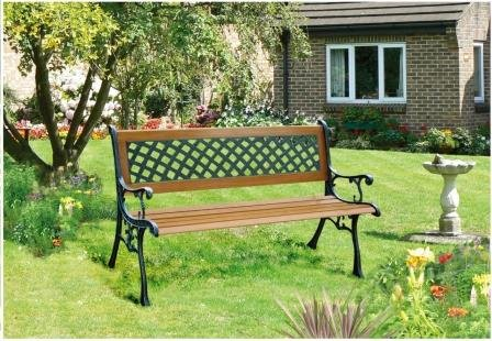 Redwood BB-FC120 2-Person Wooden Bench