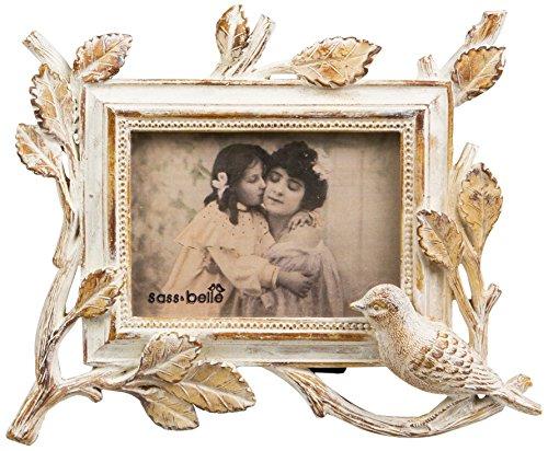 sass-belle-woodland-bird-photo-frame-whitewash