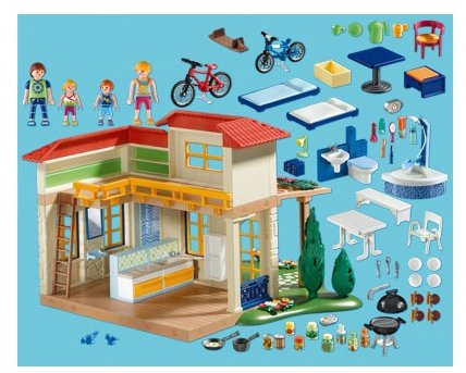 Playmobil 4857 jeu de construction maison campagne pictures - Jeu de construction de maison virtuel ...