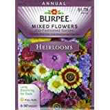 Burpee 39548 Heirloom Mixed Flowers Old Fashioned Garden Seed Packet
