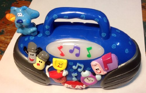 Blues Clues Light Up Musical BoomBox Radio Toy