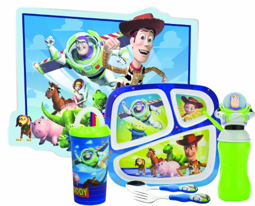 Zak Designs Toy Story 6-Piece Mealtime Set