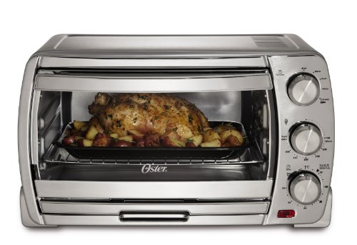 Oster TSSTTVSK01 Extra Large Convection Toaster Oven, Brushed Chrome (Small Shop Oven compare prices)