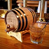 1-Liter American White Oak Barrel