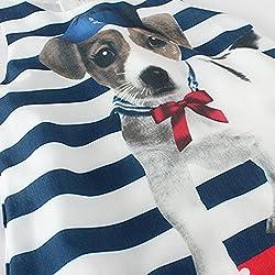 LittleSpring Little Girls' Dresses Cute Dog