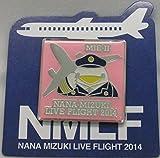 水樹奈々 【LIVE FLIGHT 2014】 ピンズ 三重会場2日目限定