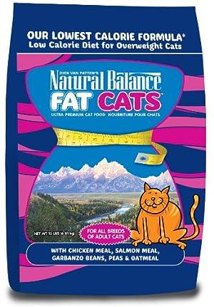 Natural Balance Fat Cats Low Calorie Dry Cat Formula, 15-Pounds