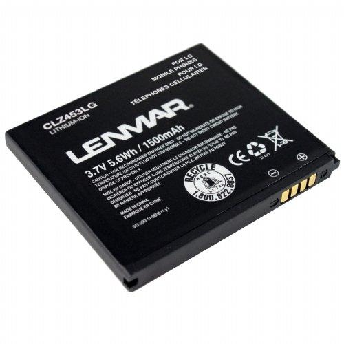Lenmar-CLZ453LG-1500mAh-Battery-(For-LG-G2x-P999)