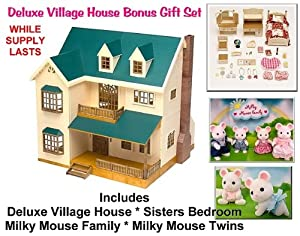Deluxe Village House Gift Set