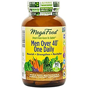 MegaFood Men Over 40 One Daily, 90 ct