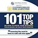 101 Top Tips on How to Grow Your Business Through Referral and Word of Mouth Marketing (       UNABRIDGED) by Barry Allaway Narrated by John Brown, Sarah Brown
