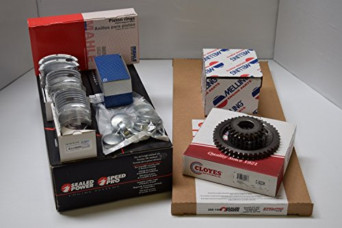Chevy 350/5.7 K Engine Kit Pistons+Rings+OP+Bearings+Gaskets 1987-94 (350 Chevy Engine Cam compare prices)
