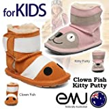 【Emu Australia】エミューオーストラリア KIDS BABY [B10601,B10600] Little Creatures Walkers 子供用シープスキンシューズ| Child Baby ベビー ムートンブーツ シープスキンブーツ