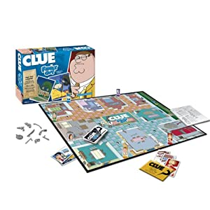 Family Guy Cluedo!