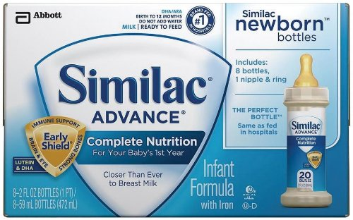 Best Buy Similac Advance Newborn Ready To Feed 2 Fluid