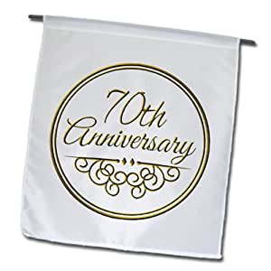 gift - gold text for celebrating wedding anniversaries - 70 years ...