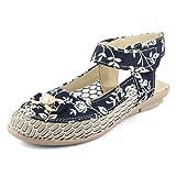 Cute Fashion Printed Blue Casual Sandals
