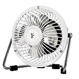 山善(YAMAZEN) 10cmミニマグネット扇風機(シーソースイッチ) ホワイト YMS-A104(W)