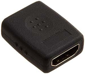 SANWA SUPPLY HDMI中継アダプタ 黒 AD-HD08EN