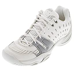 Prince Juniors` T22 Tennis Shoes White and Gray