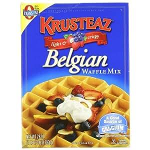 how to make crispy waffles with pancake mix