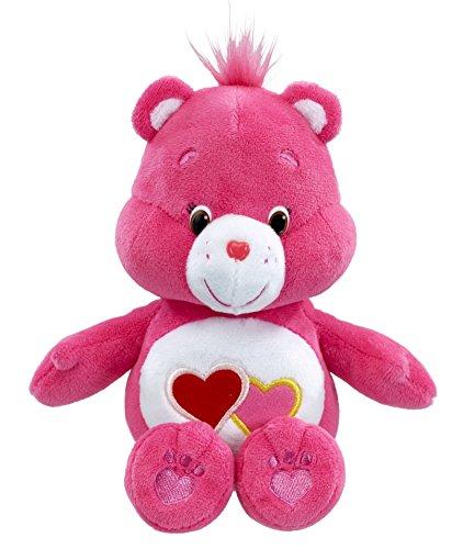 vivid-imaginations-care-bears-love-a-lot-bean-bag-plush-toy-multi-colour