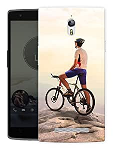 "Humor Gang Hike Life Printed Designer Mobile Back Cover For ""Oppo Find 7"" (3D, Matte, Premium Quality Snap On Case)"