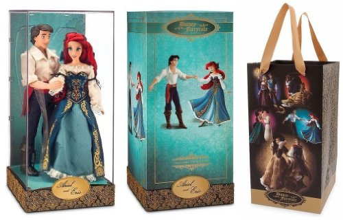 Ariel And Eric Doll Set Disney Fairytale Designer Collection Disney Store The Little Mermaid Limited Edition 6000 front-965431