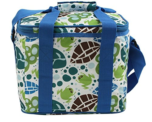 Thicken Ice Pack Insulation Package Lunch Bag Breast Milk Storage Package (Blue) front-988650