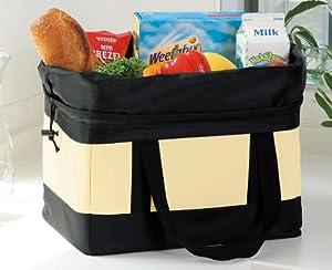 レジカゴすっぽり!自転車カゴにも入ります!保冷保温たっぷりお買い物バッグ