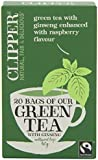 Clipper Green Tea With Ginseng 20 Bag (Pack of 6 )